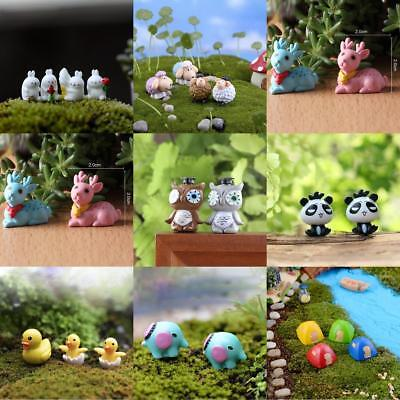 Miniature Dollhouse Garden Figurine Terrarium Bonsai Landscape DIY Decoration