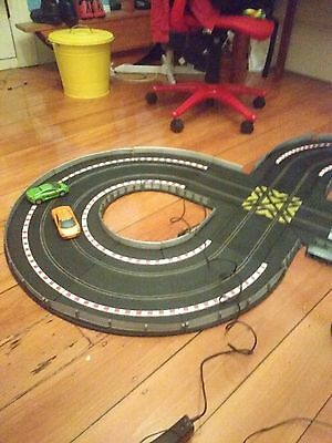 Scalextric drift 360  figure 8 track includes controllers.