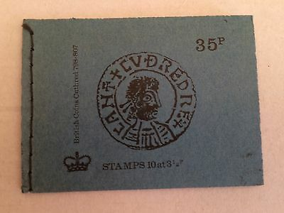 GB 1974 DP2 35p British Coins Series Stitched Stamp Booklet (APRIL 1974)
