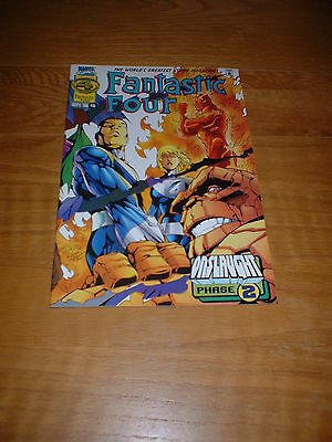 Fantastic Four (Vol1) 416.  Sept 1996. Nm Cond. Onslaught Phase 2