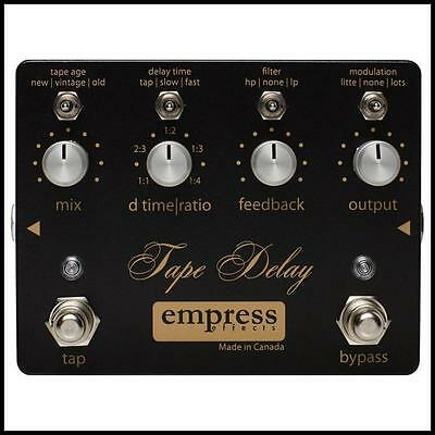 Empress Effects Tape Delay Guitar Effects Pedal  Made in Canada