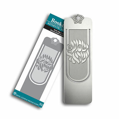 Silver Plated Shema Israel Bookmark Memo Stationery Book Mark Reading Marks Gift