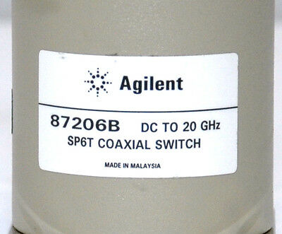 Agilent 87206B DC to 20GHz SP6T Coaxial Switch