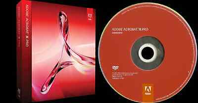 Adobe Acrobat X Professional Retail - Full Versionfor Windows shipped from USA
