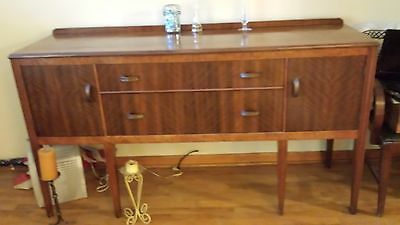 antique 40's- 50's dining set, Buffet,Table 1 Capts. Chair & China Cab. 5 chairs