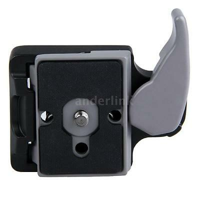 Aluminum Alloy New Camera 323 Quick Release Clamp Adapter + Quick Release Plate