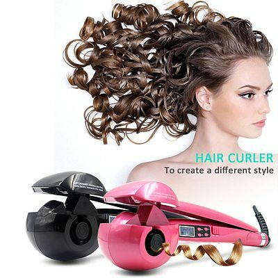 Automatic Hair Styling Curling Curler Iron Roller Tool LCD Machine Ceramic Waver