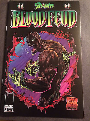 Spawn Bloodfeud #3 1995 From Image Comics