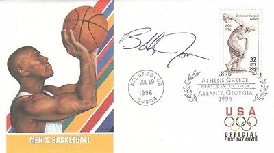 Bobby Jones Autographed First Day Cover Philadelphia 76ers Legend