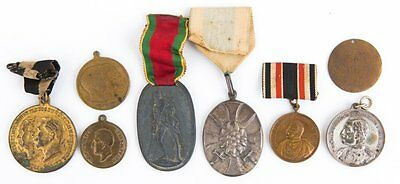 Authentic Imperial German Prussian Medals 8 In All Dearing Collection Wwi Era