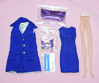 """Tonner 16"""" Marley Wentworth Skyline Blue Outfit Complete Fits Chic Body Dolls"""