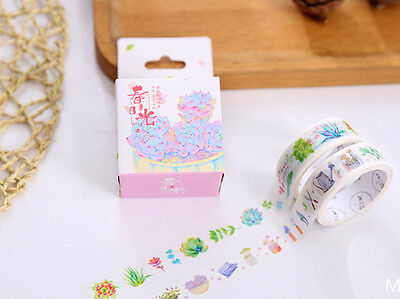 Japan Washi Tape - Garden 2 Rolls Mt065