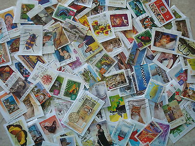 2000-2016 - Approx 100 Used Australian Stamps  - On & Off Paper - Assorted lot