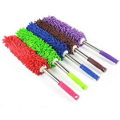 Multifunction Soft Microfiber Feather Duster Home Car Cleaning Cleaner Brush New