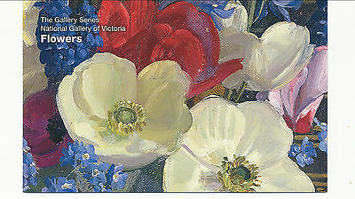 2011 The Gallery Series National Gallery of Victoria Flowers - Post Office Pack