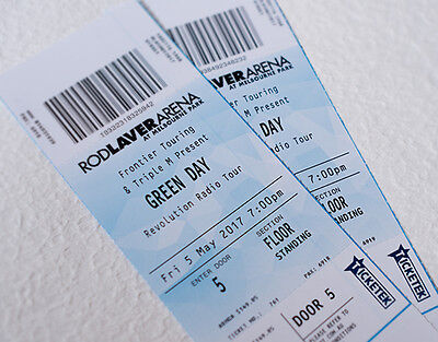 """Green Day """"Hard Copy"""" Tickets - 5 May 2017 Rod Laver Arena Melbourne"""