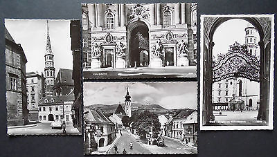 Wien Austria, Real Photograph,Unposted Postcards x 6,1950s-60s