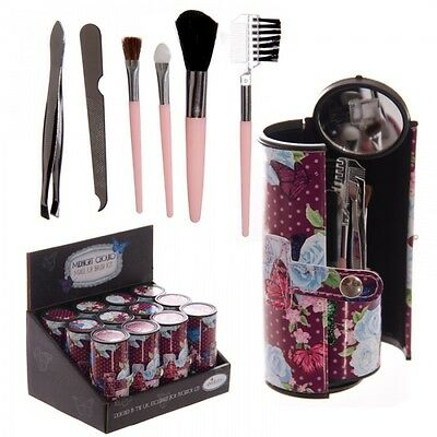 STOCK LOTTO 12 PEZZI Kit per il Make up Farfalle Chouko con Fantasia 465N