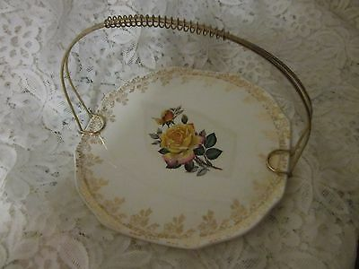 Vintage ,lord Nelson Cake Plate With Handle