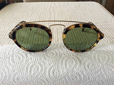 Vintage Ray Ban Bausch And Lomb Gatsby Style 6 W15522 Blonde Tortoise Sunglasses