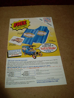 Rare Matchbox /smiths Toy Free Gift Leaflet 1980 Uk Edition Excellent Condition