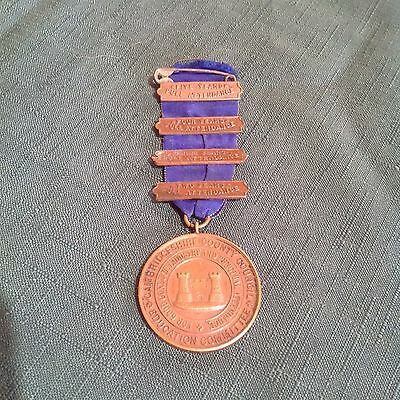 Cambridgeshire County Council Education Committee School Attendance Medal 1906