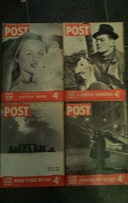 Picture post job lot whole of April 1947