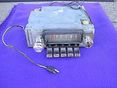 1963 Lincoln Continental AM Radio, Really Nice, Great Working & All Original