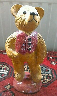 Ceramic teddy bear