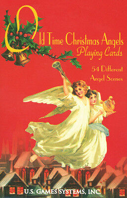 NEW Old Time Christmas Angels Playing Cards Deck