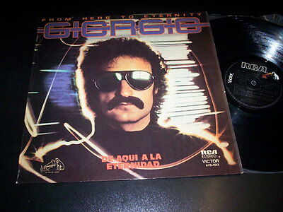 """Giorgio Moroder """"From Here To Eternity"""" LP RCA Victor AVS-4543 Argentina 1977"""