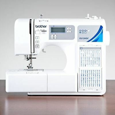 Brother Fs130Qc Stitch Lcd Computerised Portable Quilting Sewing Machine Elna Pc