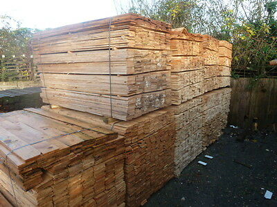 Timber Featheredge Fencing Boards 800 Lengths, 1.8M