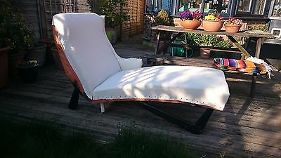 Vintage Retro Mid Century '50s/'60s Chaise Longue ADD YOUR TOP FABRIC