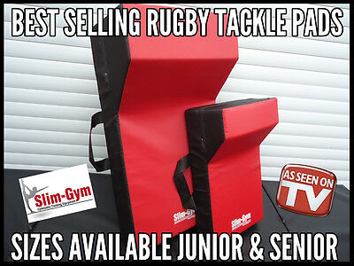 Rugby Rucking Tackle Wedge Shield Pad By Slim-Gym - Junior & Senior Sizes