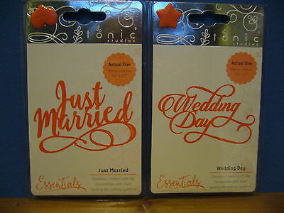 Tonic Wedding Day and Just Married Sentiment Dies