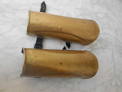 300 Spartan Arm Guard Set Brass Antique Replica Costume Movie Prop Replica