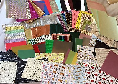 JUMBO PACK 900g scrapbooking/card making cards and papers - BARGAIN!!!