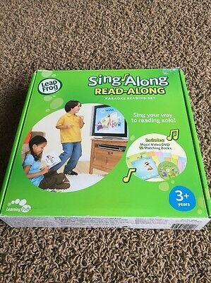 Sing Along Read Along Leap Frog Complete Book Set Leapfrog Learn To ReAd