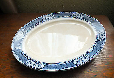 F & Sons Reaford Design Burslem Oval Meat Plate / Platter