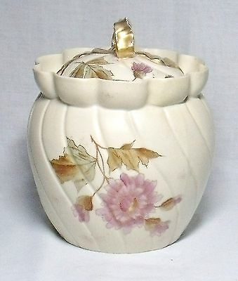 Vintage Rudolstadt Germany Porcelain Tobacco Jar