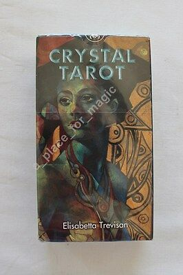 NEW Crystal Tarot Deck Cards Lo Scarabeo DISCOUNTED FOR DENTED BOX