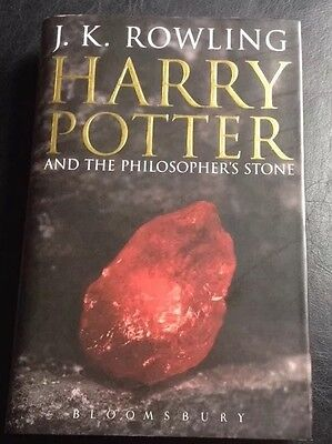 Harry Potter and the Philosophers Stone Adult Hardback 1st edition 1st print UK