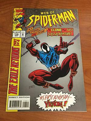 Web of Spider-man #118 1st app Scarlet Spider Clone Marvel comics