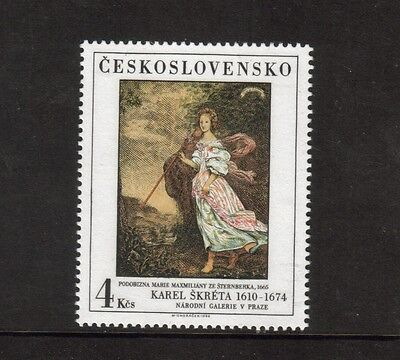 Czechoslovakia - 1986 U/mint Art Issue.