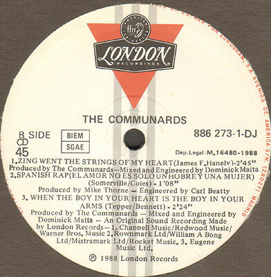 THE COMMUNARDS - There's More To Love - London - 886 273-1-DJ Spa 1988