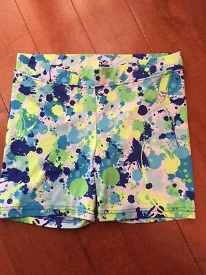 Girls Justice Spandex Shorts - Size 12