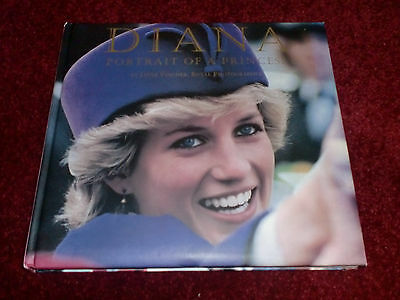 Princess DIANA Hardback Book- Diana, Portrait of a Princess