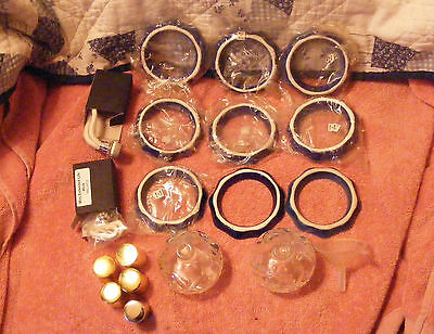 Oil Lamp or  Lot of 19 For Parts Only  2  Wicks