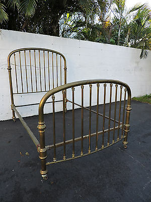 Victorian Brass Bed Full-Size 7368